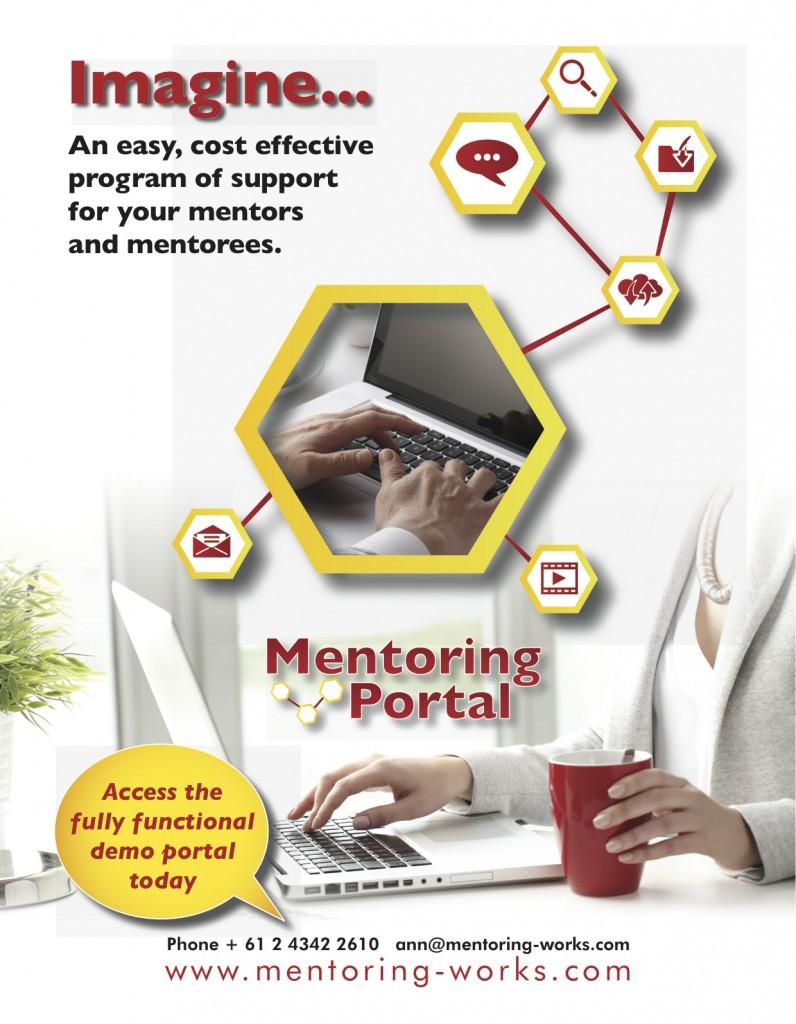 Mentoring Portal Poster